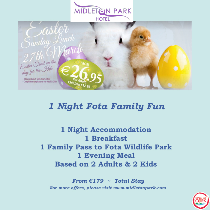 midleton park hotel easter offers
